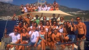 dalış grubu, dalış turu, dalış ekibi,