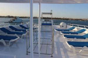 Kızıldeniz Mısır Dalış Turu Tekne teras