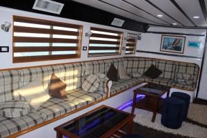 Kızıldeniz Mısır Dalış Turu Tekne salon