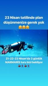 21-22-23 Nisan'da 3 günlük MARMARİS turumuzda sadece dalışa değil marmaris gecelerinde eğlenceye de doyacağız 🕺🏻💃🏻